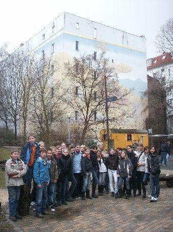 Kunstunterricht - Wandmalerei berlin ...
